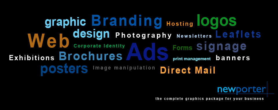Graphic Design, Logo Design, Leaflets, Posters, Branding, Ads, Web Hosting and much more